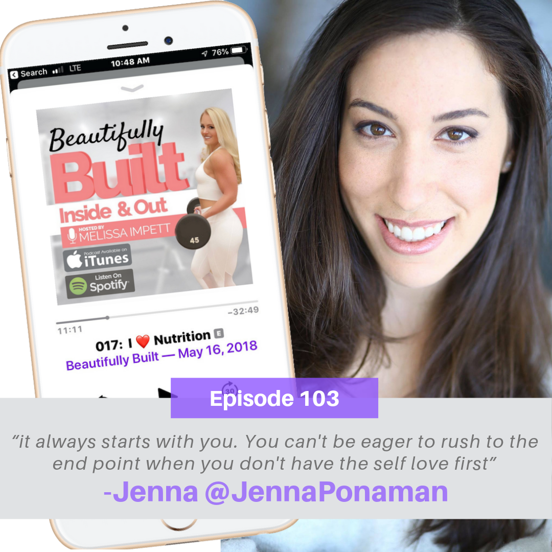 Beautifully Built Podcast episode with Dating and Relationship Expert Jenna Ponaman